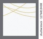 golden or bronze color round... | Shutterstock .eps vector #1276813438