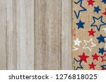 red  white and blue stars...   Shutterstock . vector #1276818025