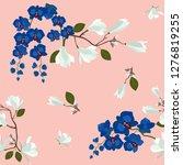 seamless vector illustration... | Shutterstock .eps vector #1276819255