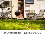 family vacation travel rv ... | Shutterstock . vector #1276824772