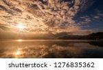 reflection beautiful landscape... | Shutterstock . vector #1276835362