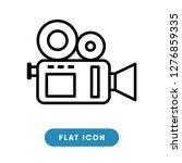 video camera vector icon