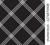black white check plaid fabric... | Shutterstock .eps vector #1276870408