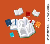 books background. science... | Shutterstock .eps vector #1276908088