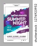 template for your party poster... | Shutterstock .eps vector #1276923952