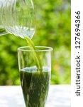 green juice | Shutterstock . vector #127694366