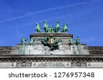 photo of the triumphal arc in... | Shutterstock . vector #1276957348