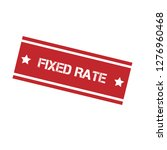 stamp with text fixed rate...