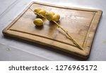 fresh ripe organic date fruits... | Shutterstock . vector #1276965172