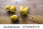 fresh ripe organic date fruits... | Shutterstock . vector #1276965175