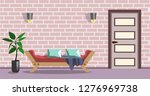 room interior vector... | Shutterstock .eps vector #1276969738