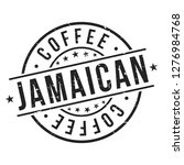jamaican coffee. quality... | Shutterstock .eps vector #1276984768