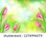 spring flower beautiful...   Shutterstock .eps vector #1276996075