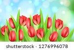 spring flower beautiful...   Shutterstock .eps vector #1276996078