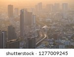 dust exceed the standard value...   Shutterstock . vector #1277009245