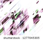 abstract vector background dot... | Shutterstock .eps vector #1277045305