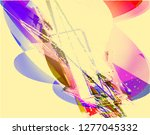 abstract vector background dot... | Shutterstock .eps vector #1277045332