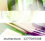 abstract vector background dot... | Shutterstock .eps vector #1277045338