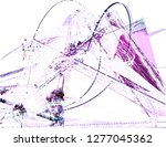 abstract vector background dot... | Shutterstock .eps vector #1277045362