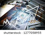 capital gains representing the... | Shutterstock . vector #1277058955