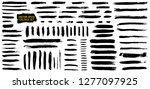 grunge brushes collection.... | Shutterstock .eps vector #1277097925