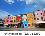 burano  italy   july 24  ...   Shutterstock . vector #127711292