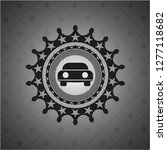 car seen from front icon inside ... | Shutterstock .eps vector #1277118682