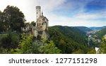 castle lichtenstein on the...   Shutterstock . vector #1277151298