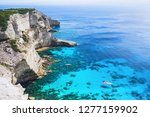 vacations in france. beautiful... | Shutterstock . vector #1277159902