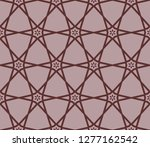 ornamental seamless pattern....   Shutterstock .eps vector #1277162542