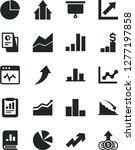 solid black vector icon set  ... | Shutterstock .eps vector #1277197858