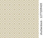 vector golden geometric... | Shutterstock .eps vector #1277209435