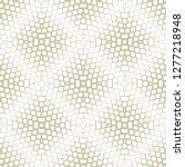 golden vector halftone texture. ... | Shutterstock .eps vector #1277218948