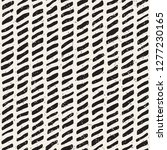 simple ink geometric pattern.... | Shutterstock .eps vector #1277230165