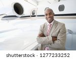businessman on trip with... | Shutterstock . vector #1277233252