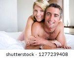 portrait of loving couple in... | Shutterstock . vector #1277239408