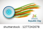 vector illustration of india... | Shutterstock .eps vector #1277242078