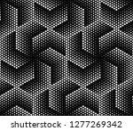 vector seamless texture. modern ... | Shutterstock .eps vector #1277269342
