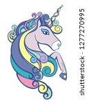 unicorn vector illustration   Shutterstock .eps vector #1277270995