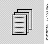 pages icon on transparent...