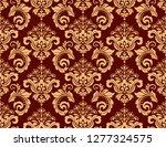 floral pattern. vintage... | Shutterstock . vector #1277324575