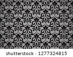 wallpaper in the style of... | Shutterstock . vector #1277324815