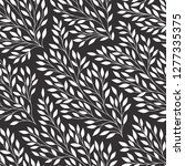 seamless pattern with white... | Shutterstock .eps vector #1277335375