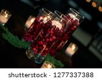 wedding reception centerpiece... | Shutterstock . vector #1277337388