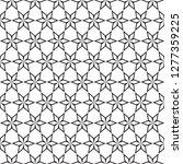 seamless intersecting star... | Shutterstock .eps vector #1277359225