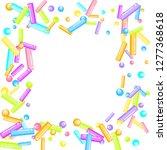 sprinkles grainy. sweet... | Shutterstock .eps vector #1277368618
