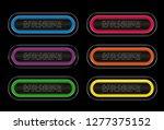 set infographics buttons... | Shutterstock .eps vector #1277375152