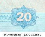 macro image on united arab... | Shutterstock . vector #1277383552