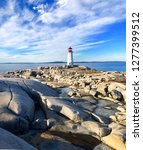 Lighthouse Peggy S Cove Ocean