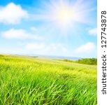 green field | Shutterstock . vector #127743878